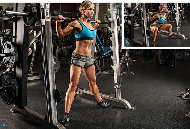 Huấn luyện viên chỉ ra sự thật khi tập squat trên máy Smith, ai đang tập squat cùng dụng cụ này hãy cân nhắc-2