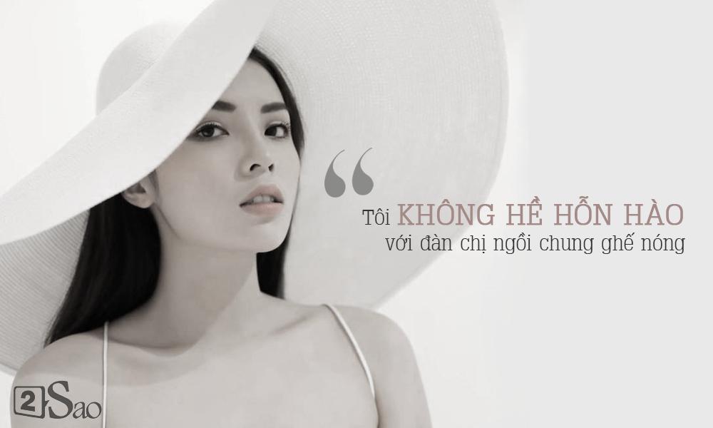 Hoa hậu Kỳ Duyên: Tôi không đấu đá và chưa bao giờ coi Huyền My là đối thủ-3