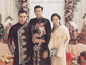 Hé lộ đám hỏi hoành tráng và cô dâu xinh đẹp của thiếu gia tập đoàn Tân Hoàng Minh