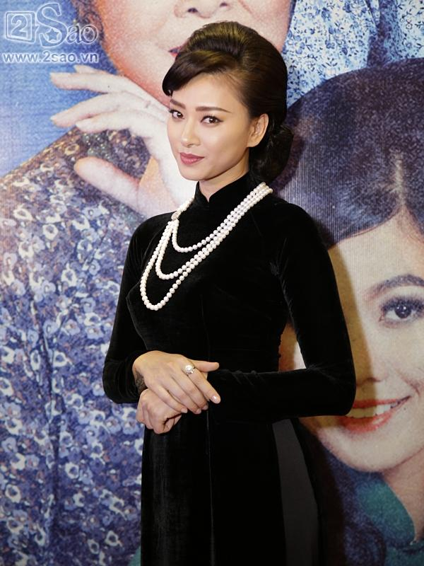 Dàn sao hạng A đồng loạt phủ bóng áo dài trong tiệc ra mắt Cô Ba Sài Gòn-1