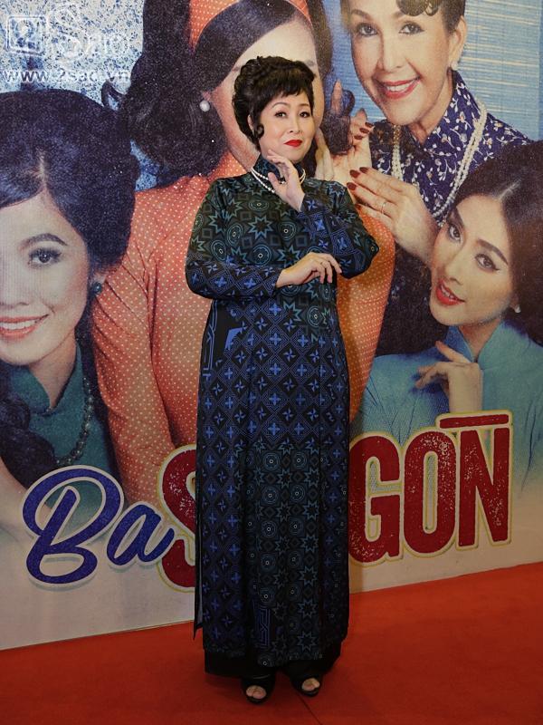 Dàn sao hạng A đồng loạt phủ bóng áo dài trong tiệc ra mắt Cô Ba Sài Gòn-3