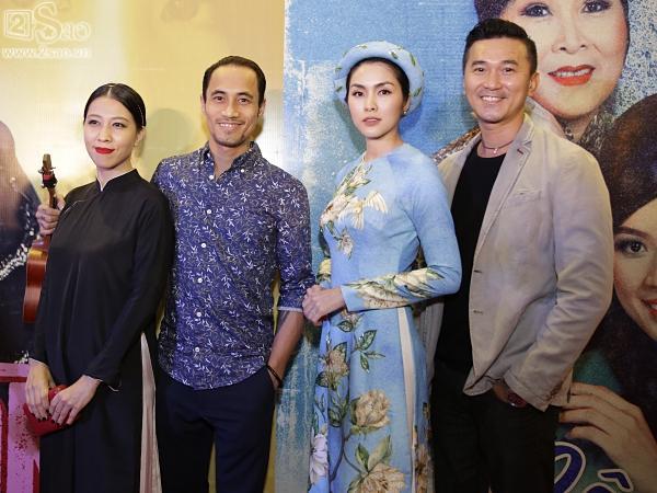 Dàn sao hạng A đồng loạt phủ bóng áo dài trong tiệc ra mắt Cô Ba Sài Gòn-6