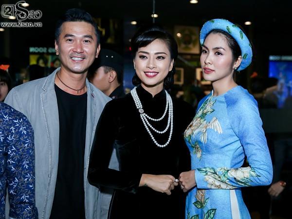 Dàn sao hạng A đồng loạt phủ bóng áo dài trong tiệc ra mắt Cô Ba Sài Gòn-7