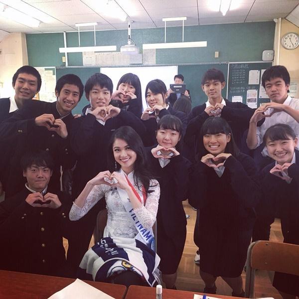 Thùy Dung bất ngờ bị thủy đậu nhưng vẫn lot top 15 bình chọn Miss International 2017-4