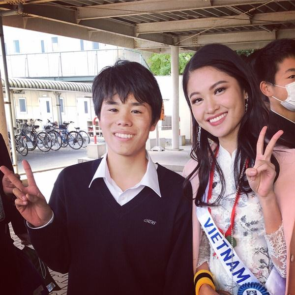 Thùy Dung bất ngờ bị thủy đậu nhưng vẫn lot top 15 bình chọn Miss International 2017-6