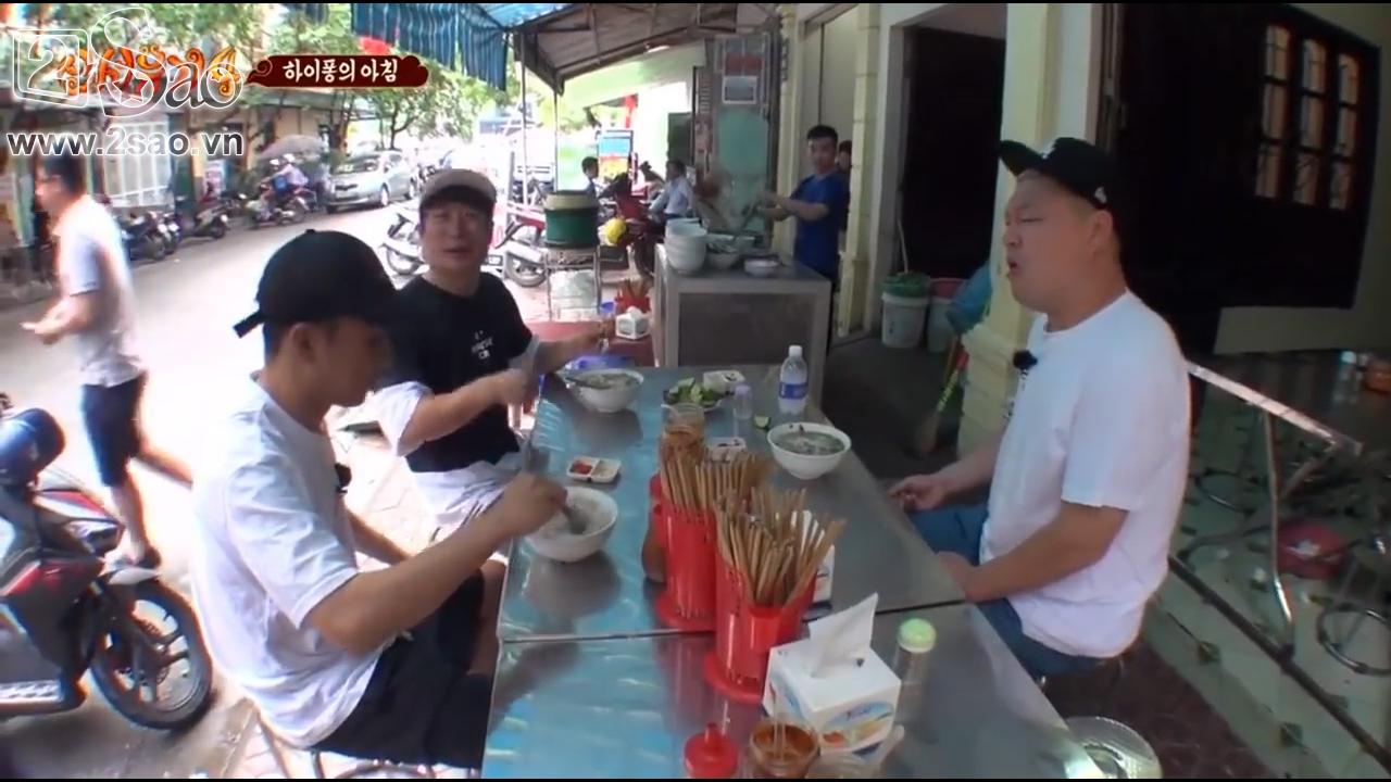 Xem các nghệ sĩ Hàn mắt tròn mắt dẹt khi thưởng thức 7 đặc sản Việt Nam-3