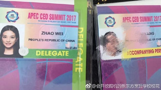 Tiểu Yến Tử Triệu Vy đến Đà Nẵng dự APEC 2017?-2