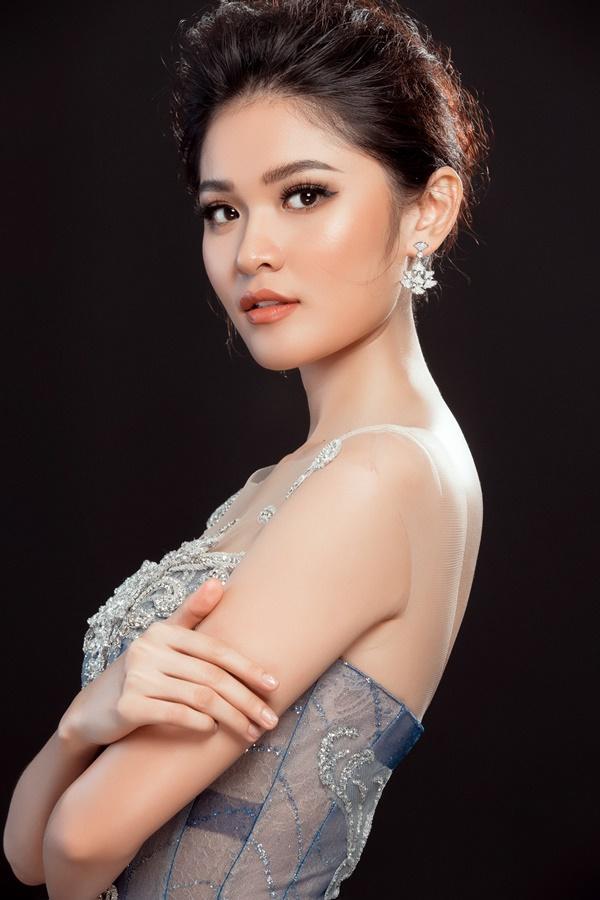 Cận cảnh trang phục dạ hội chính thức của Thùy Dung tại Hoa hậu Quốc Tế 2017-7