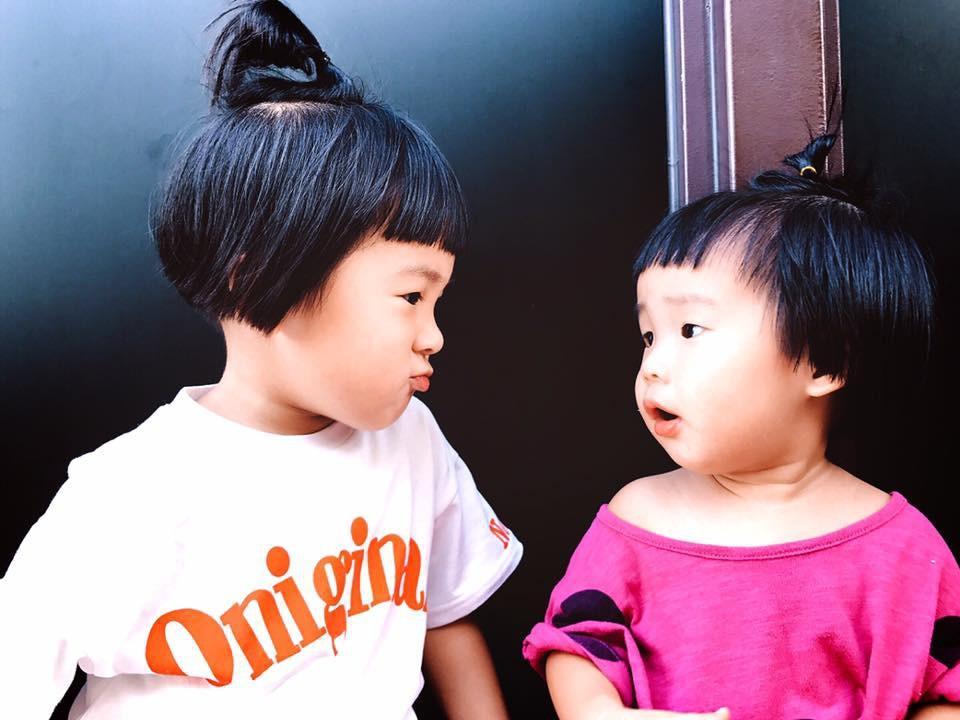Cô bé Vô Diện hóa ra còn có một cô em gái đáng yêu và lắm trò không kém cô chị-3