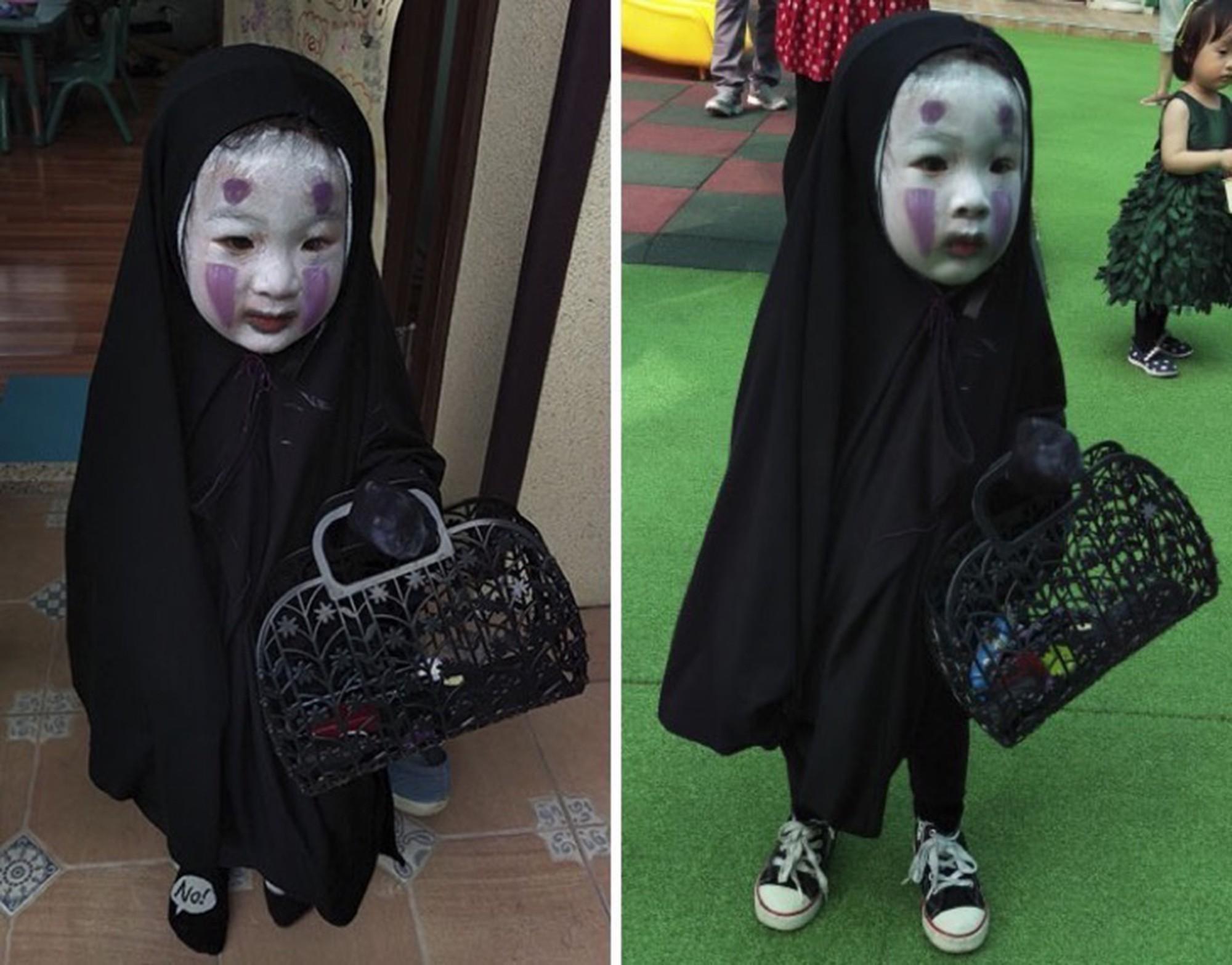 Cô bé Vô Diện hóa ra còn có một cô em gái đáng yêu và lắm trò không kém cô chị-1