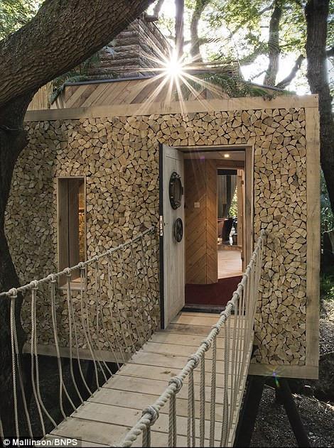 Ngôi nhà trên cây sang trọng ở Anh-10