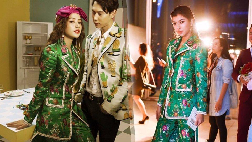 Liên tục mặc đụng hàng , thời trang của Đồng Ánh Quỳnh đang bị Chi Pu đồng hóa?-4
