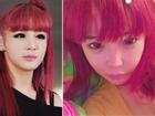 Cố nhuộm lại tóc đỏ như thời đỉnh cao nhan sắc nhưng Park Bom vẫn bị chê vì khuôn mặt 'biến dạng'