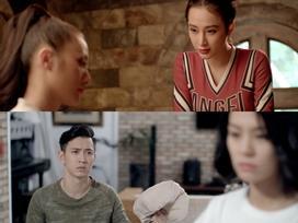 'Glee': Angela Phương Trinh 'nắm thóp' Yaya Trương Nhi, Đỗ An phát hiện vợ mang thai giả