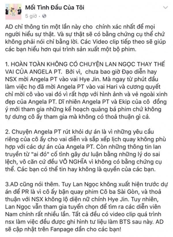 Lộ bằng chứng Ninh Dương Lan Ngọc không cướp vai của Angela Phương Trinh-7
