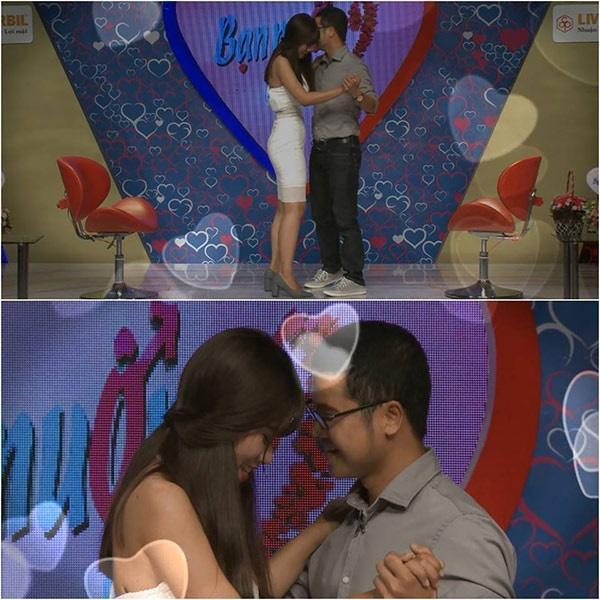 Cặp đôi suýt hôn trên sân khấu Bạn muốn hẹn hò đã ngừng tìm hiểu sau 4 tháng-1