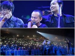 Monsoon 2017: Gần 7000 khán giả hòa giọng cùng Ngọt band trong ca khúc 'Cho tôi đi theo'