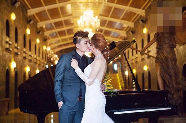 Lộ clip Lâm Khánh Chi mặc váy cưới lộng lẫy trước giờ xuất giá-4