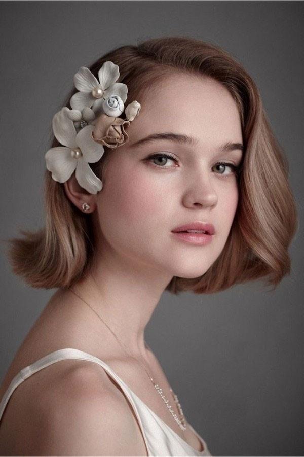 Mùa cưới năm nay, kiểu tóc cô dâu nào hot nhất ?-5