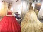 Lộ clip Lâm Khánh Chi mặc váy cưới lộng lẫy trước giờ xuất giá