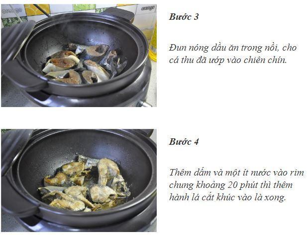 Cơm tối nóng hổi ăn cùng cá kho gừng thơm ngậy-2