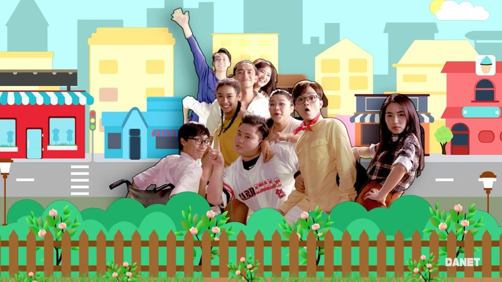 CLB Glee nhí nhảnh khoe giọng trong MV triệu lượt xem Say you do-7