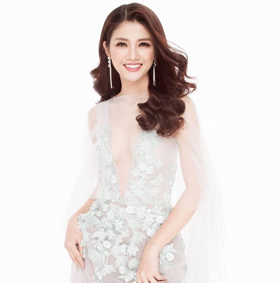 Thời trang sành điệu của Mỹ Duyên - đối thủ xứng tầm Hoàng Thùy ở Miss Universe 2017-2