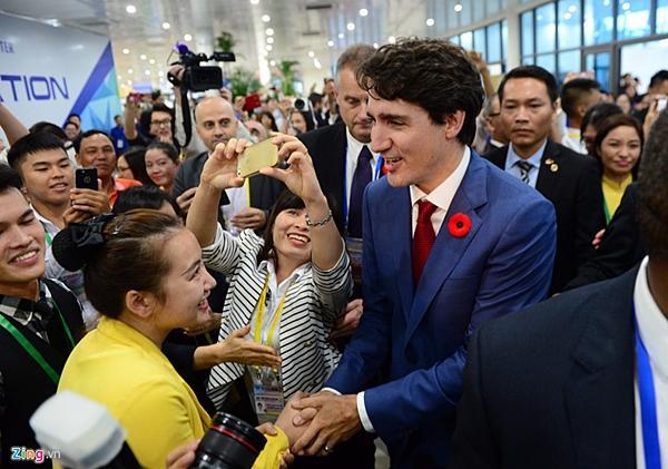 Thủ tướng Trudeau đã gây bão ở Việt Nam như thế nào?-12