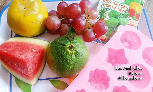 Rau câu trái cây tuyệt ngon cho các bé dịp cuối tuần-1