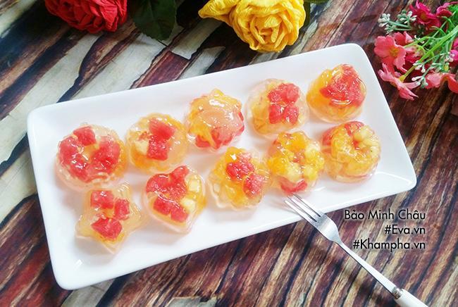 Rau câu trái cây tuyệt ngon cho các bé dịp cuối tuần-7