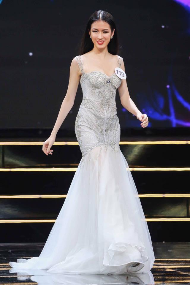 Vẻ đẹp xuất sắc của thí sinh vượt mặt Hoàng Thùy chiến thắng trong tập 7 bán kết Miss Universe-3