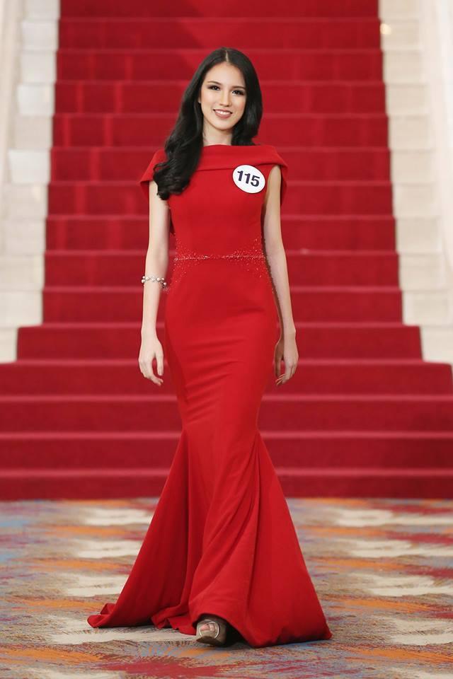 Vẻ đẹp xuất sắc của thí sinh vượt mặt Hoàng Thùy chiến thắng trong tập 7 bán kết Miss Universe-2