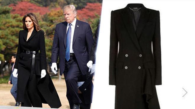 Trang phục hàng hiệu của phu nhân Tổng thống Trump trong chuyến công du-7