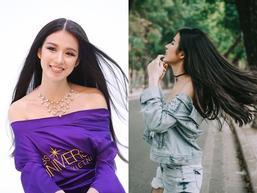 Vẻ đẹp xuất sắc của thí sinh 'vượt mặt' Hoàng Thùy chiến thắng trong tập 7 bán kết Miss Universe