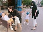 Hot girl - hot boy Việt 13/11: Cuộc sống bình yên khi ở quê cùng con của Ly Kute