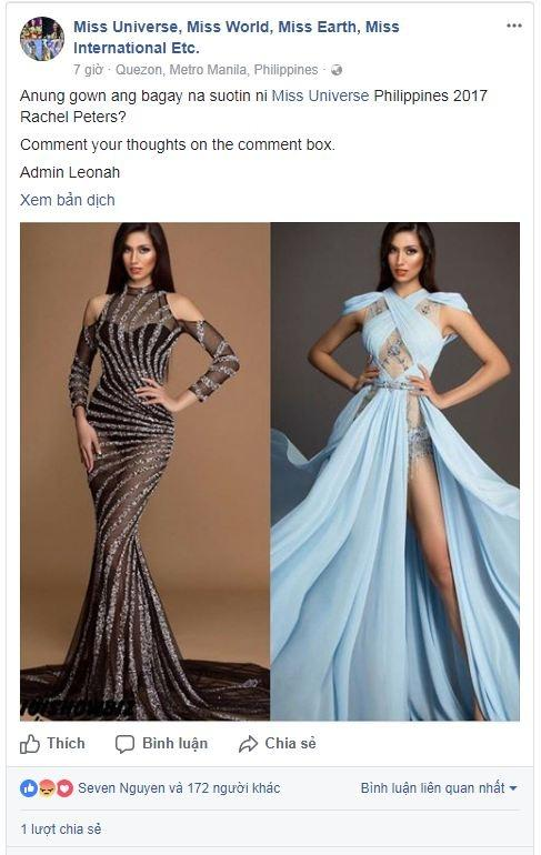 Sai một ly đi một dặm, Nguyễn Thị Loan bị fan Philippines đánh phủ đầu tại Miss Universe 2017-7