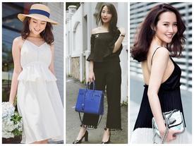 Khám phá gu thời trang 'bánh bèo mà không sến súa' của tình mới thiếu gia Phan Thành