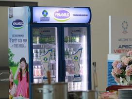 Hơn nửa triệu sản phẩm Vinamilk phục vụ APEC