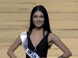Thùy Dung trượt top 15 mỹ nhân đẹp nhất chung kết Miss International 2017