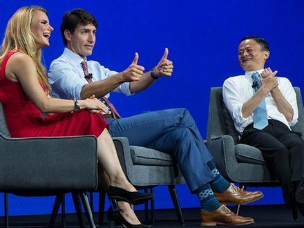 Tỷ phú Jack Ma và Thủ tướng Canada 'đấu khẩu' tại Toronto