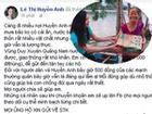 'Bà Tưng' bức xúc khi việc thiện nguyện ở vùng lũ bị cho là 'làm màu'