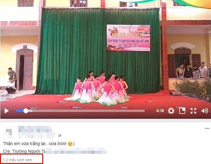 Dàn nam sinh má phấn môi son múa Bánh trôi nước chào mừng ngày Nhà giáo Việt Nam-1