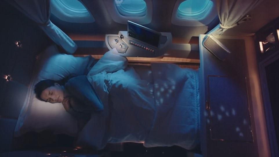 Bên trong khoang hạng nhất với không gian riêng cho hành khách-5