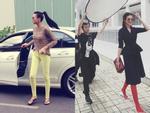 Là đệ nhất chân dài Việt Nam, nhưng Thanh Hằng lại chỉ mê mẩn dép lào