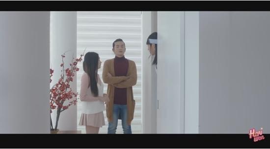 Hari Won nổi điên khi bị người lạ xông vào phòng tắm trong tập 2 của Thiên ý-3