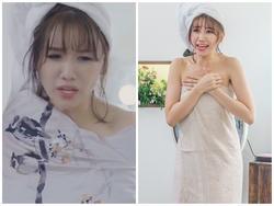 Hari Won nổi điên khi bị người lạ xông vào phòng tắm trong tập 2 của 'Thiên ý'