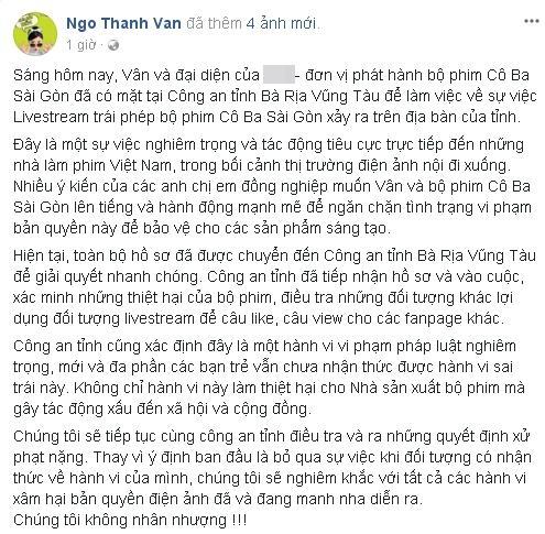 Ngô Thanh Vân làm việc với công an, quyết không nhân nhượng với kẻ giết phim Việt-5