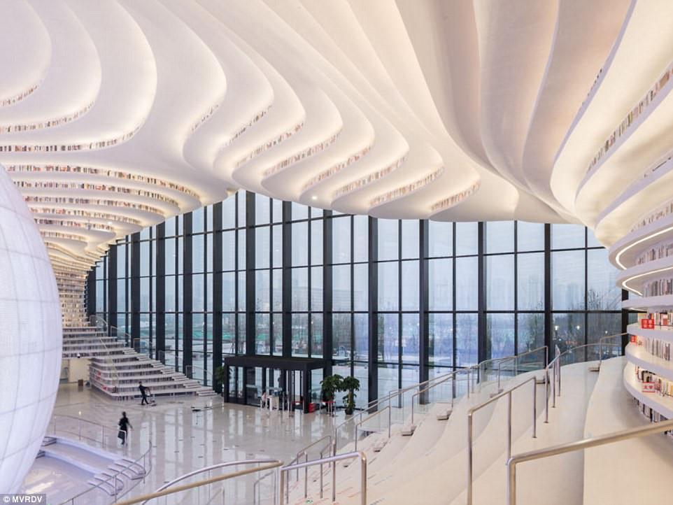 Thư viện khổng lồ chứa 1,2 triệu cuốn sách ở Trung Quốc-6