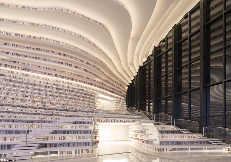 Thư viện khổng lồ chứa 1,2 triệu cuốn sách ở Trung Quốc-7