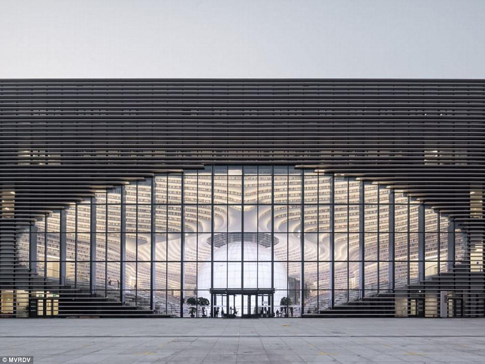 Thư viện khổng lồ chứa 1,2 triệu cuốn sách ở Trung Quốc-8